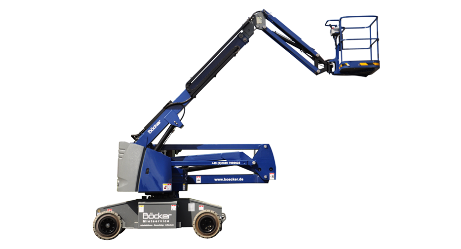 Rack and pinion lifts for construction sites from Böcker